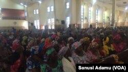 Kiristocin jihar Adamawa masu zuwa Israila ana yi masu bita
