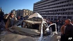 Explosões no Cairo