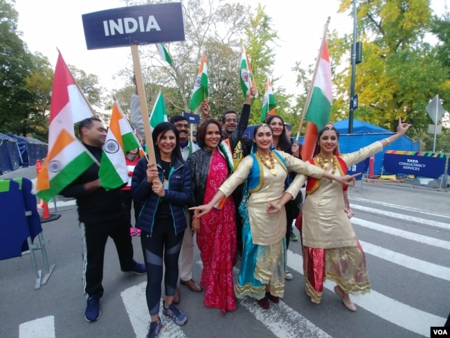 Kontingen dari India (foto: VOA/Naratama).