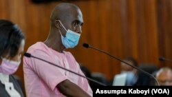 Koloneli Marc Nizeyimana umwe mu bareganwa na Paul Rusesabagina