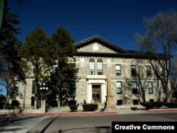 Federal courthouse in Santa Fe, N.M.