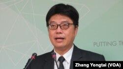 台灣陸委會陸委會發言人邱垂正。
