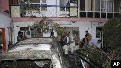 ڈرون حملے میں کم از کم نو افراد کی ہلاکت کی اطلاعات ہیں۔