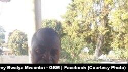 Makamu rais wa chama cha upinzani cha UPND cha Zambia, Geoffrey Mwamba.