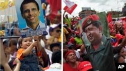 Los candidatos a la presidencia de Venezuela Hugo Chávez y Henrique Capriles tienen hasta las 11:59 pm. del jueves 4 de octubre para realizar campaña política y transmitir mensajes publicitarios.