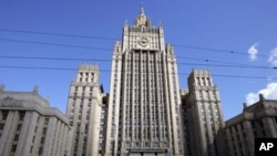 Здание МИД РФ в Москве (архвиное фото)