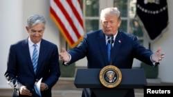 El presidente Donald Trump resaltó el trabajo realizado de su nominado Jerome Powell en la Reserva Federal e indicó que cuenta con el respaldo bipartidista del Congreso para ser confirmado como el nuevo presidente de la Fed.