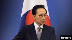 Presiden Korea Selatan, Lee Myung-bak (Foto: dok)
