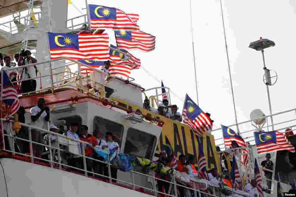 A Malaysian NGO's aid ship