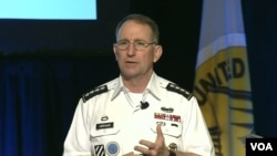 로버트 에이브럼스 주한미군사령관이 22일 하와이 호놀룰루에서 열린 아시아태평양지상군, LANPAC 심포지엄에 참석했다.