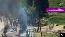 شام میں بڑے پیمانے پر حکومت مخالف مظاہرے