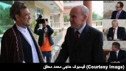 آقای محقق در نشست ارگ حضور نداشت اما با دیپلماتهای غربی در محل اقامت اش ملاقات نمود