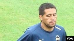 Juan Riquelme kembali ke lapangan setelah absen enam bulan karena harus menjalani operasi lutut.