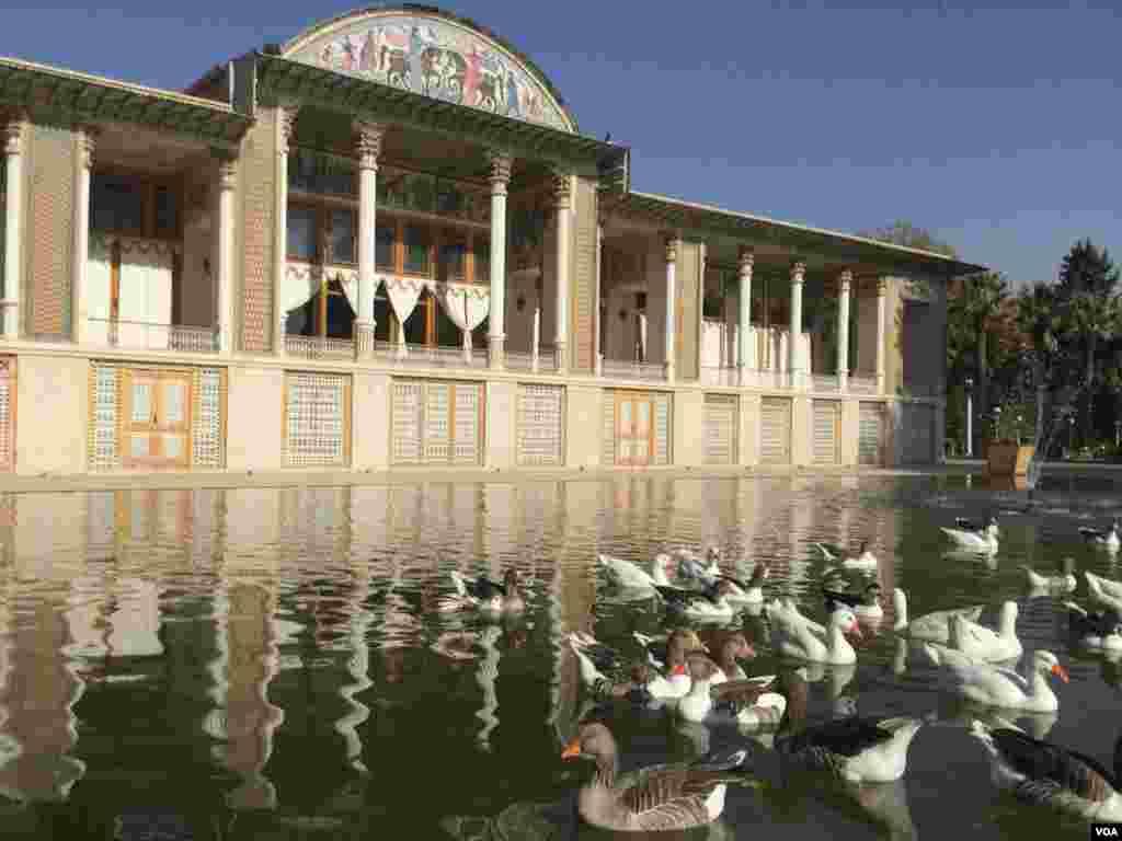 شيراز باغ عفيف آباد عکس: شبنم (ارسالی شما)