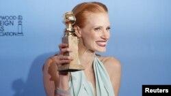 جسیکا چستین، برنده جایزه بازیگری برای فیلم سی دقیقه پس از نیمه شب