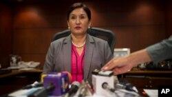 La fiscal general de Guatemala, Thelma Aldana, cree firmemente en la igualdad y la justicia.