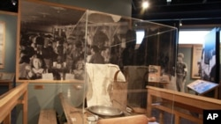 Most of the artifacts at the Heart Mountain Interpretive Learning Center were donated by former internees.