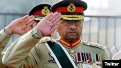 Parvez Musharraf Pokistonni 2001-2008-yillarda boshqargan