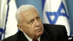 Picha ya waziri mkuu wa zamani Ariel Sharon