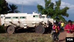 Angola veiculo usado nas operaçõs de desminagem em Malanje (imagem de arquivo)