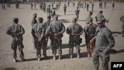 Американские военные в провинции Кандагар в Афганистане