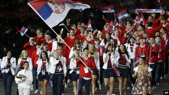 Novak Đoković predvodi delegaciju sportista iz Srbije na ceremoniji u Londonu