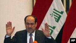 د عراق وزیر اعظم نوري المالکې