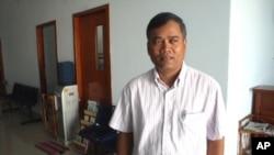 Cambodian psychiatrist Sotheara Chhim, from non-profit group the Transcultural Psychosocial Organization - Cambodia
