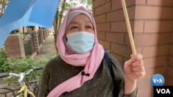 Gulnora, Nyu-Yorkdagi uyg'urlar jamiyati a'zosi