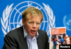 FILE: Bruce Aylward, World Health Organization's assistant director general