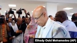 Mohamed Ould El Ghazouani, donné vainqueur de la présidentielle en Mauritanie.