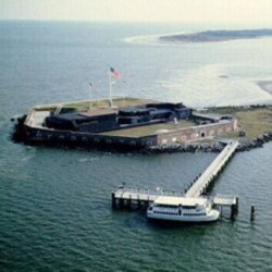 On April 12, 1861, a cannon fired at Fort Sumter was the first shot of the Civil War