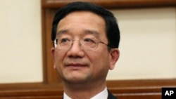 中國外交部條約法律司司長黃惠康