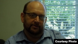Giáo sư sử học Peter Zinoman (ảnh Bùi Văn Phú)
