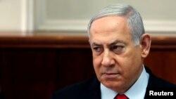 Benjamin Netanyahu à Jérusalem le 13 novembre 2019.