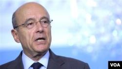 Menteri luar negeri Perancis, Alain Juppe