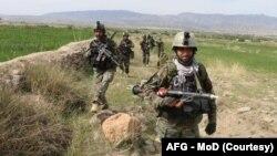 Afganistanske snage
