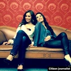 Lulu Damiat (kiri) dan Stella Sudjasmin (kanan) pendiri Ela Lu di LA (foto/dok: Lulu Damiat)