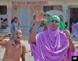 UCID supporters in Hargeisa