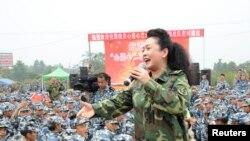 中国国家主席习近平夫人彭丽媛