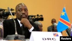 아프리카 콩고민주공화국의 조셉 카빌라 대통령 (자료사진)