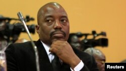 FILE - DRC President Joseph Kabila has ruled Congo since his father's assassination in 2001, and he won disputed elections in 2006 and 2011.