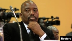 FILE - Joseph Kabila, president of the Democratic Republic of the Congo, is due to step down after elections next year, but critics think he may seek to extend his time in office.