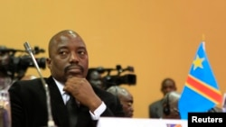 Le Président Kabila. (Photo d'Archives).