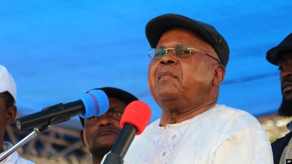 Etienne Tshisekedi le 31 juillet 2016.