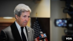 Secretary of State John Kerry interviews with VOA Thai.