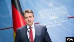 Almanya Federal Dışişleri Bakanı SIgmar Gabriel