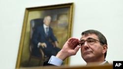 17일 애슈턴 카터 미 국방장관이 하원 군사위원회 청문회에 출석했다.