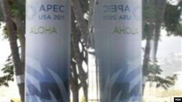 Persiapan menjelang APEC Summit di Honolulu Hawaii (7/11).