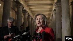 Sekretè Deta Ameriken an Hillary Clinton (foto achiv )